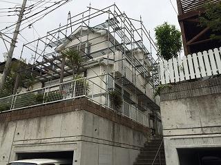 【完工事例】[16.5.20] 藤沢市O様邸 外壁塗装・屋根塗装・付帯部塗装・シーリング打替工事