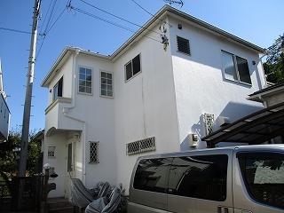 【完工事例】[16.6.7] 鎌倉市S様邸 外壁塗装・屋根塗装・付帯部塗装他工事