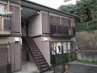 【完工事例】[16.7.6] 横浜市Hアパート 外壁塗装・屋根塗装・付帯部塗装・シーリング打替工事